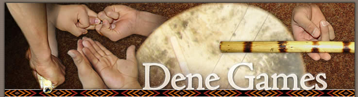 Dene Games - image of hands
